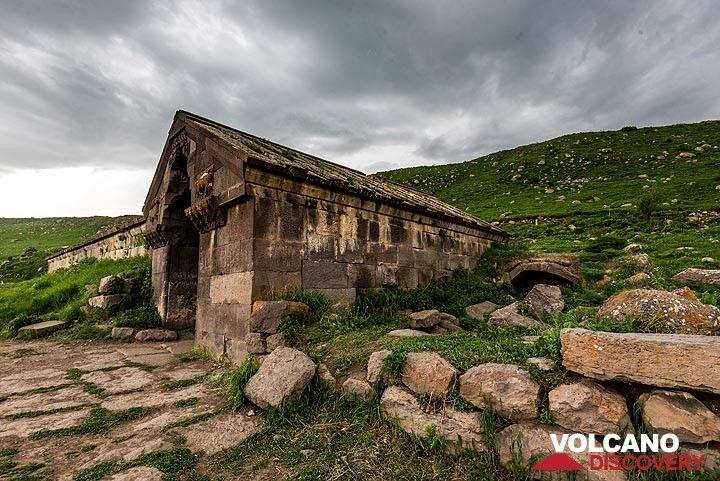 Part of the Selim caravanserai from outside (Photo: Tom Pfeiffer)