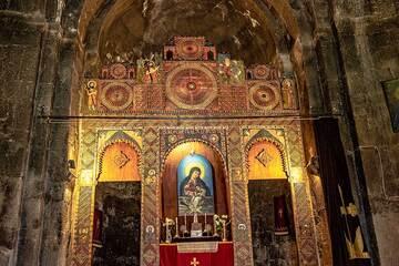 Inside the main chapel of Sevanavank. (Photo: Tom Pfeiffer)