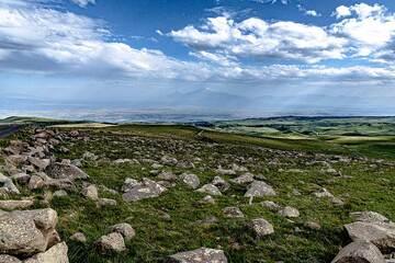 Stony ground and Ararat in the background (Photo: Tom Pfeiffer)