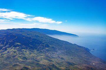 Aerial photograph of El Hierro island and the El Golfo area. (Photo: Tobias Schorr)