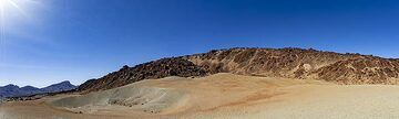 The pumice fields at Minas de San Jose in the caldera of Teide volcano. (Photo: Tobias Schorr)