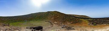 Panoramic view of the caldera Blanca craters. (Photo: Tobias Schorr)