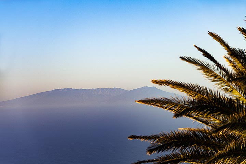 View from El Hierro island towards La Pal,a island. (Photo: Tobias Schorr)