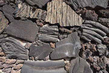 Lavaflows used for building in La Restinga. El Hierro island. (Photo: Tobias Schorr)