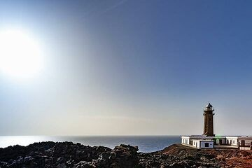 The lighthouse of Orchilla on El Hierro island. (Photo: Tobias Schorr)
