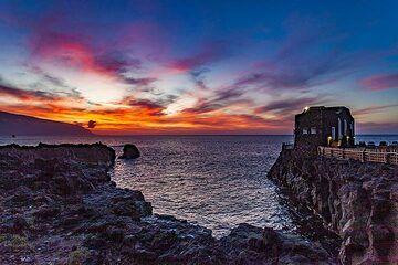 "Sunset over the ""smallest hotel"". El Hierro island. (Photo: Tobias Schorr)"