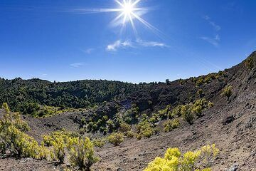 The valley at the Tangagasoga volcano on El Hierro. (Photo: Tobias Schorr)