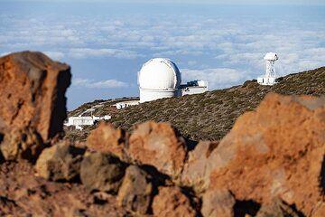 The astrological observatory on La Palma. (Photo: Tobias Schorr)