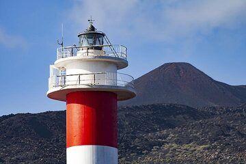 The lighthouse of Funcalliente on La Palma island. (Photo: Tobias Schorr)