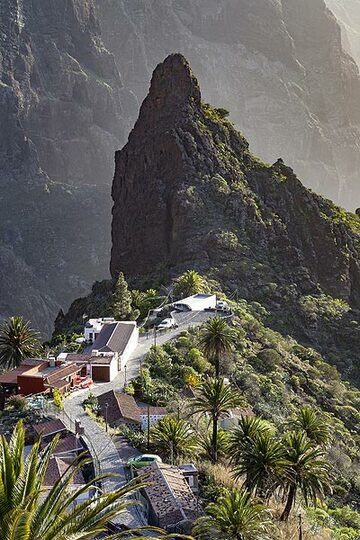 The famous sight of Masca village on Tenerife island. (Photo: Tobias Schorr)