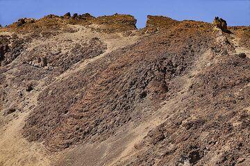 Lava flow of Teide volcano at Minas de San José on Tenerife island. (Photo: Tobias Schorr)