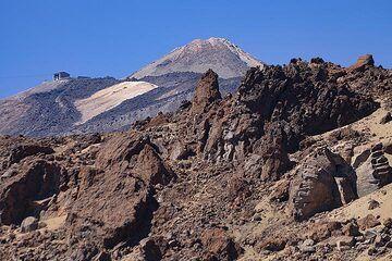 The huge Teide volcano on Tenerife island. (Photo: Tobias Schorr)