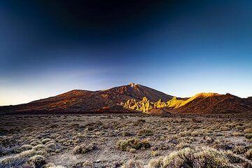 Evening atmosphere at the caldera of Teide volcano on Tenerife island. (Photo: Tobias Schorr)