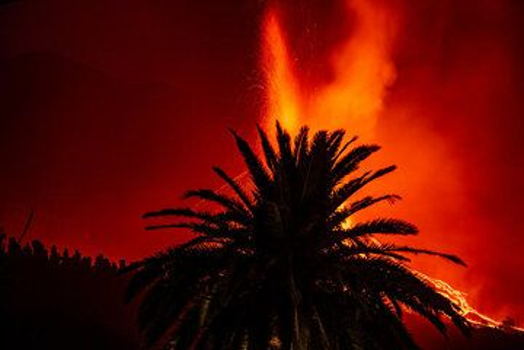 La Palma eruption Sep 2021 (Photo: Tom Pfeiffer)