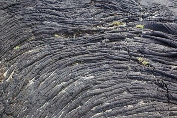 Ropy pahoehoe lava (El Hierro Island, Canaries) (Photo: Tom Pfeiffer)