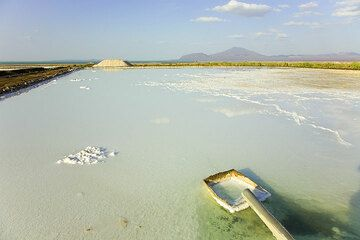 Afrera Salzsee - südlicher Danakil (Jan. 08) (Photo: Tom Pfeiffer)