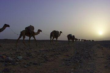 Sunset at Ahmed Ela. Mekele is far. (Photo: Tom Pfeiffer)