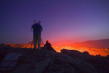 Venus und die ersten Sterne sind nun zu sehen.  (Photo: Tom Pfeiffer)