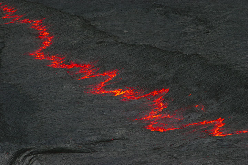 Volcán de Erta Ale (Etiopía), patrones de lago de lava (02 08 de-) (Photo: Tom Pfeiffer)