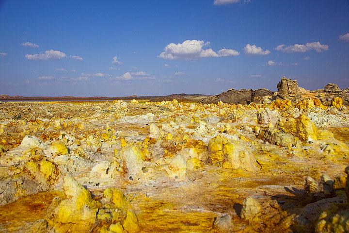 Landscape at Dallol (Photo: Tom Pfeiffer)