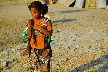 Little girl from a village near Wukro (Photo: Tom Pfeiffer)