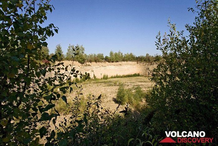 A former pumice quarry (Photo: Tobias Schorr)