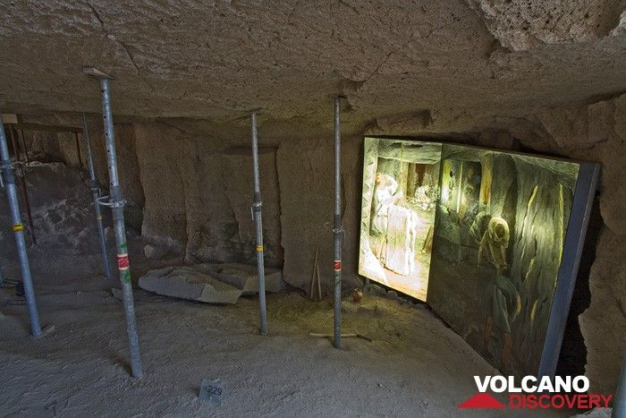 Archaeological site of a Roman pumice quarry (Photo: Tobias Schorr)