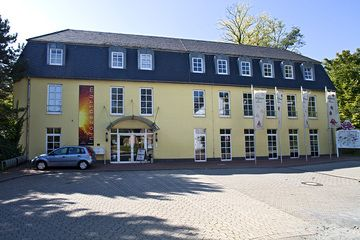 Volcanological information centre Rauschermuehle at the town of Plaidt.  (Photo: Tobias Schorr)