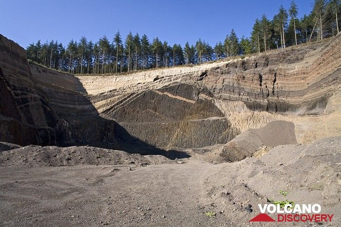 The lava quarry Eppelsberg volcano (Photo: Tobias Schorr)