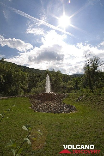The cold water geysir of Andernach (Photo: Tobias Schorr)