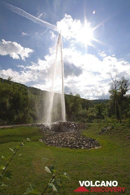 Der Kaltwassergeysir von Andernach (Photo: Tobias Schorr)