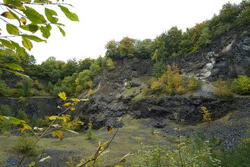 Der Steinbruch im ehem. Vulkan Arnsberg (Photo: Tobias Schorr)
