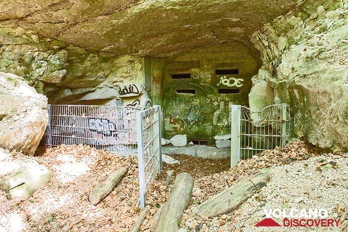 Noch ein anderer ehm. Nazi-Bunker im Tal Ofenkaule des Siebengebirges. (Photo: Tobias Schorr)