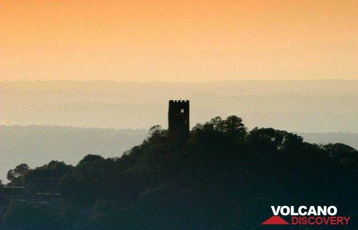 Der Turm der Burch Drachenfels im Siebengebirge (Photo: Tobias Schorr)