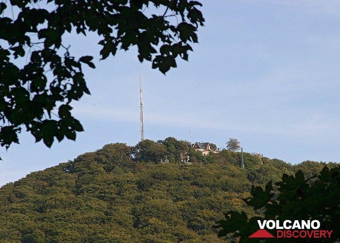 Der Gipfel des Oelberg-Vulkans im Siebengebirge (Photo: Tobias Schorr)