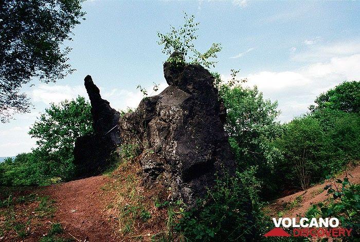 Schlot des Rodderberg-Vulkans bei Bonn (Photo: Tobias Schorr)