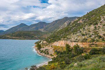 View towards Methana's western coast (Photo: Tom Pfeiffer)