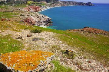 Milos Island (Cyclades, Greece) April 2011: colors (c)