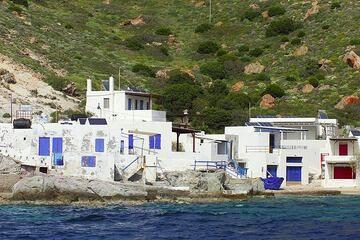 Part of Klima village on Milos Island (Photo: Tom Pfeiffer)