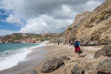 Paleochori beach, Milos Island, Greece (April 2014) (Photo: Tom Pfeiffer)