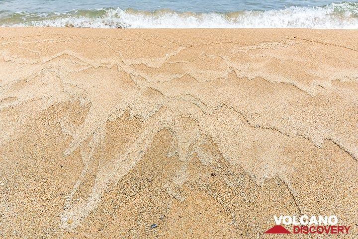 Golden sandy beach (Photo: Tom Pfeiffer)