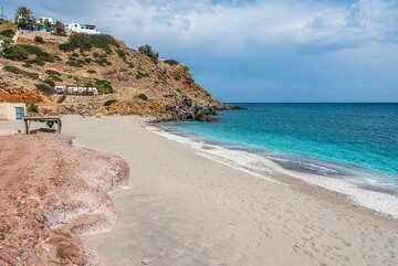 Agia Kiriaki is certainly one of the best in the category of white sand. (Photo: Tom Pfeiffer)