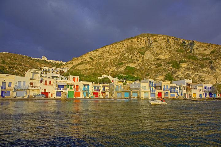 The fishing village Klima on Milos island (Photo: Tom Pfeiffer)