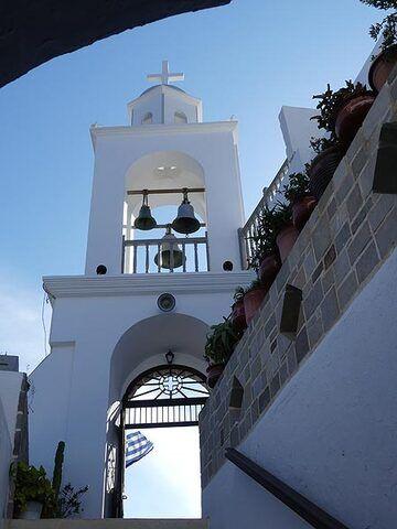 The monastery of Panagia Spiliani in Mandraki (Photo: Ingrid Smet)