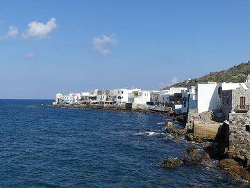 View of Mandraki´s sea front (Photo: Ingrid Smet)