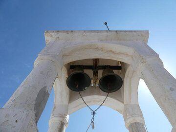 Tower and bells of Nikia´s main church (Photo: Ingrid Smet)