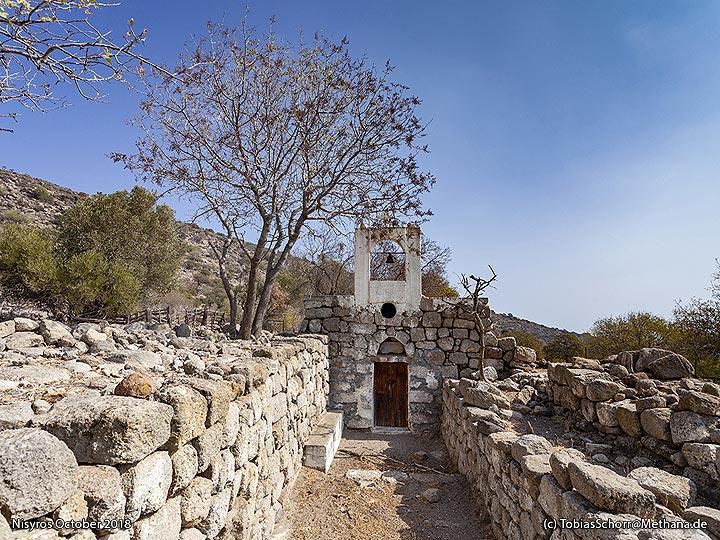 A chapel ontop an ancient temple. (Photo: Tobias Schorr)