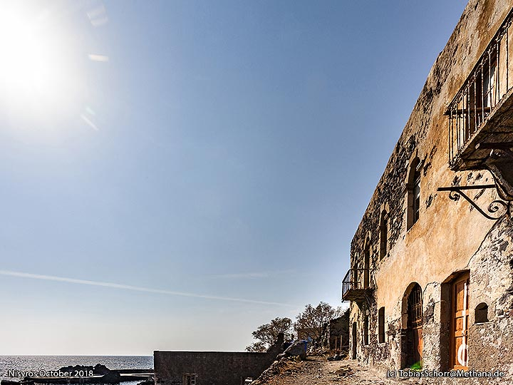 The old bath houses of Avlaki. (Photo: Tobias Schorr)
