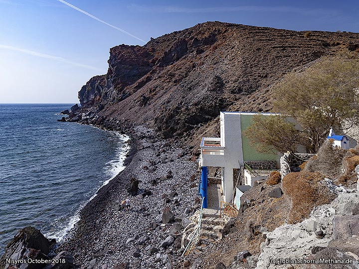 The beach of Avlaki. (Photo: Tobias Schorr)