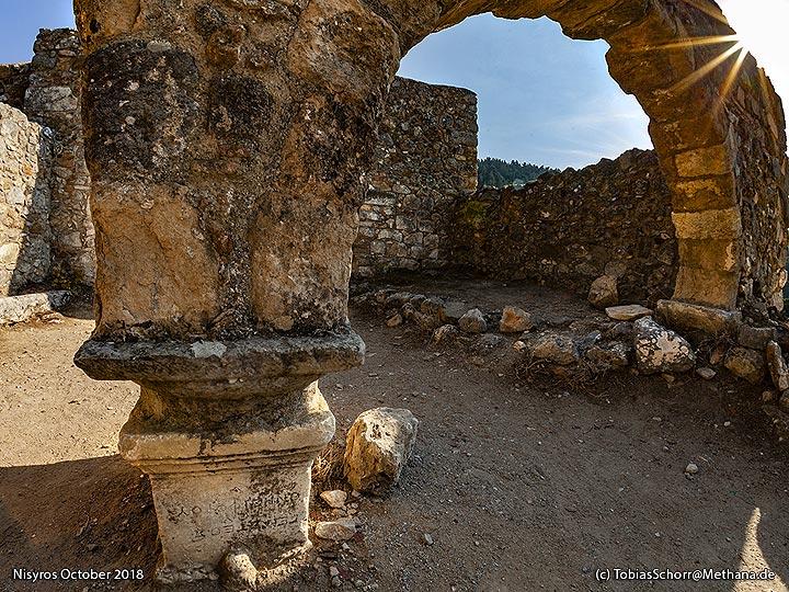 Old monastery at Palia Pyli on Cos. (Photo: Tobias Schorr)